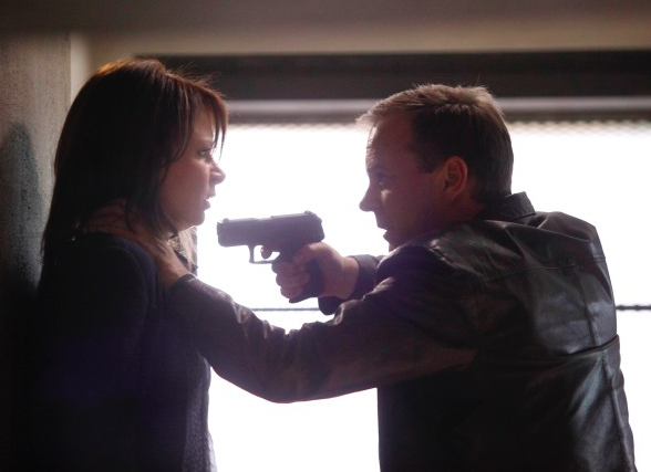 A) Jack Bauer & Chloe O'Brian from 24
