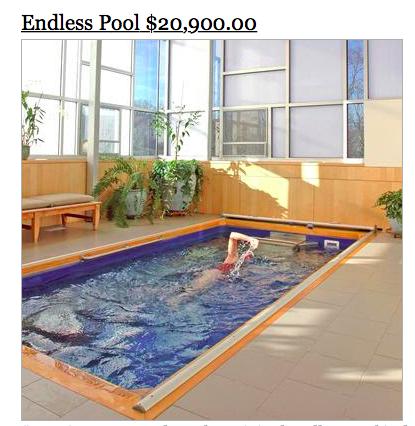 sky mall endless pool