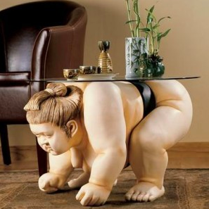 sky mall sumo table
