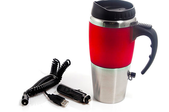sky mall tech savvy travel mug