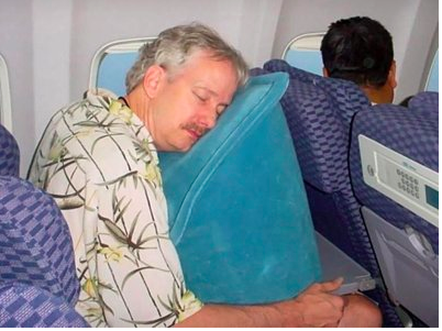 sky mall travel pillow